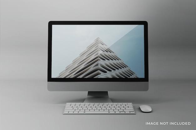 Edytowalny projekt makiety ekranu pulpitu