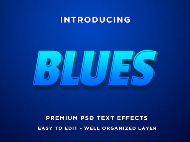 Efekt niebieskiego tekstu