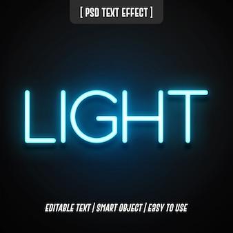 Efekt stylu tekstu świetlnego