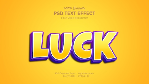 Efekt tekstowy 3d popup psd