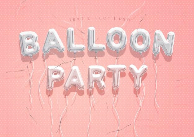 Efekt tekstowy balonu