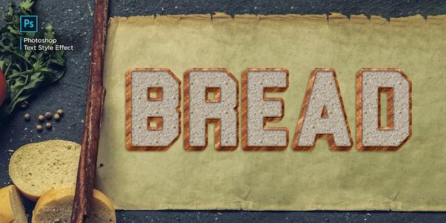 Efekt tekstowy chleba