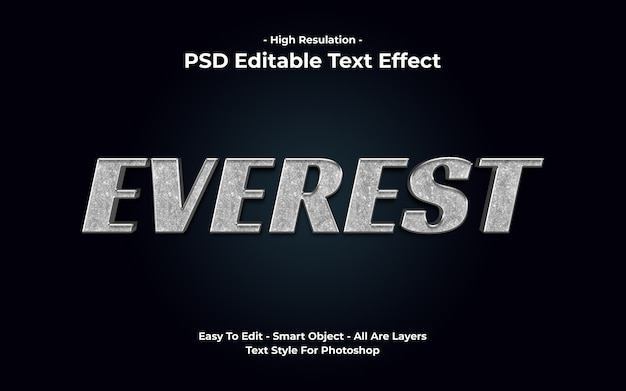 Efekt tekstowy everest