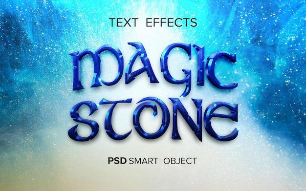 Efekt tekstowy filmu fantasy