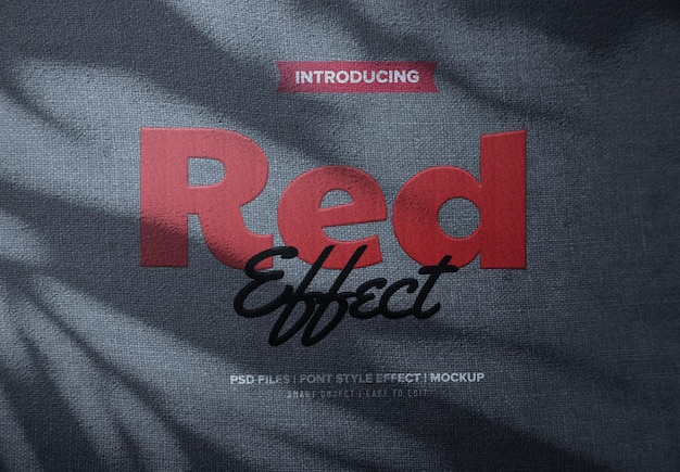 Efekt tekstowy haftu czerwonego tkaniny