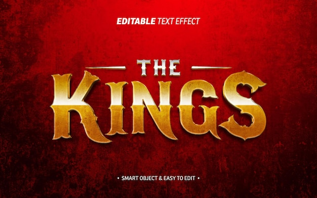 Efekt tekstowy królów