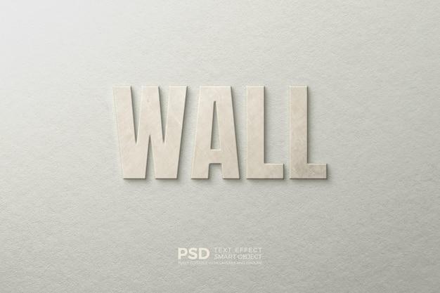 Efekt tekstowy na ścianie dzięki szablonowi miękkiej tekstury