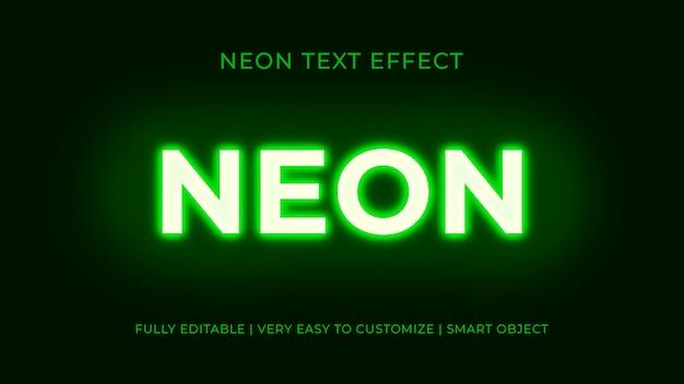 Efekt tekstowy neonów