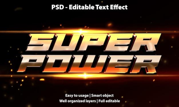 Efekt tekstowy o dużej mocy
