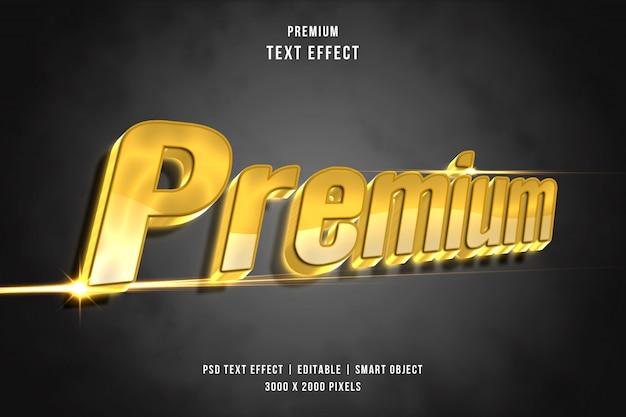 Efekt tekstowy premium 3d