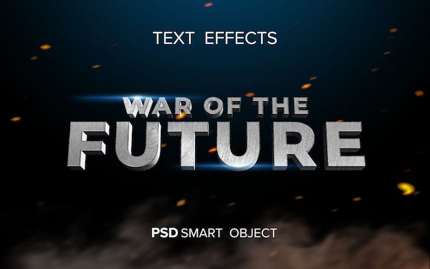 Efekt tekstowy science fiction