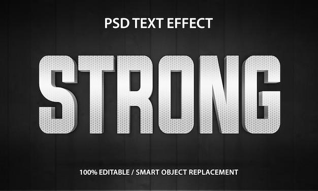 Efekt tekstowy silny premium