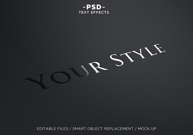 Efekt tekstowy twojego stylu