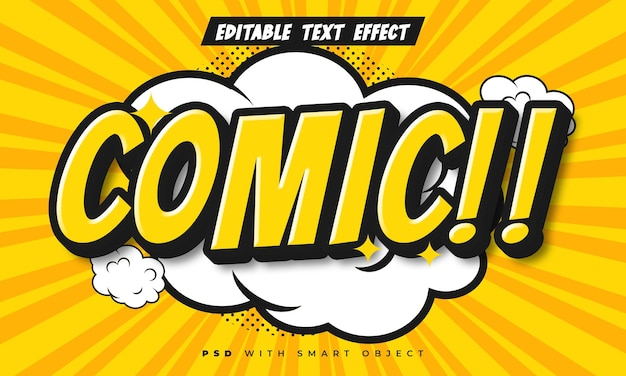 Efekt tekstu komiksowego