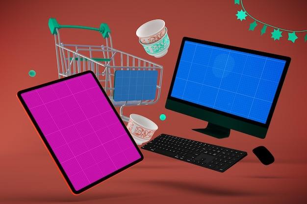 Eid responsive shopping makieta