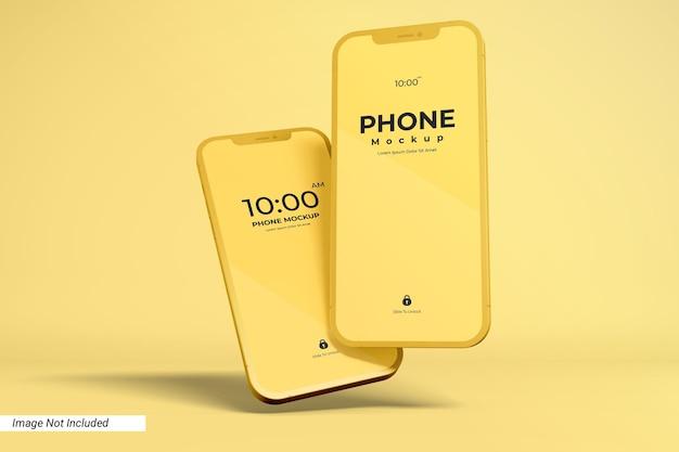 Ekran aplikacji i makieta smartfona
