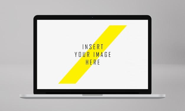 Ekran laptopa makieta