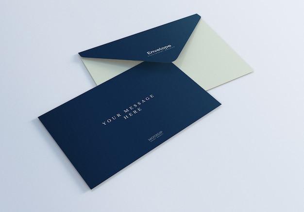 Elegancka makieta koperty