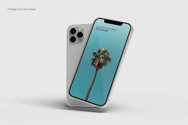 Elegancka makieta smartfona