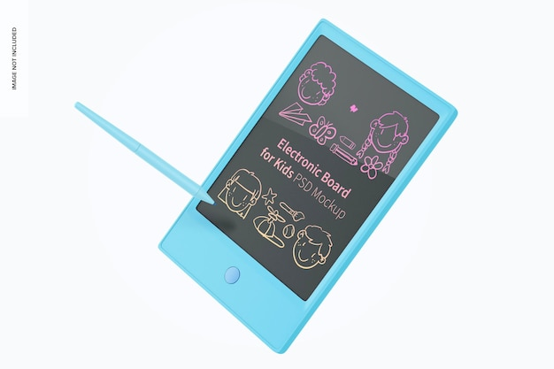 Elektroniczna tablica do makiety dla dzieci, pływająca