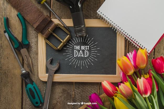 Elementy dnia ojca