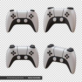 Elementy renderowania 3d kontrolera gier
