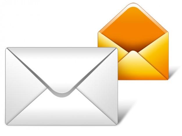 Email ikona psd