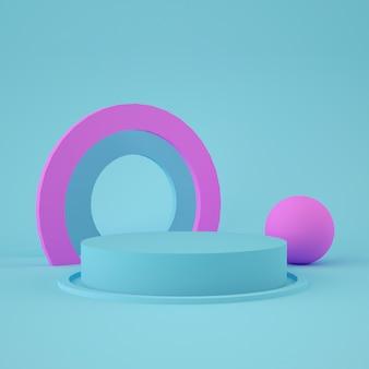 Etap geometryczny 3d do lokowania produktu