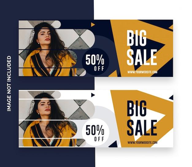 Facebook obejmuje sprzedaż mody szablon