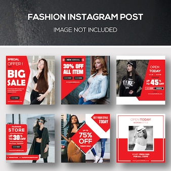 Fashion instagram post