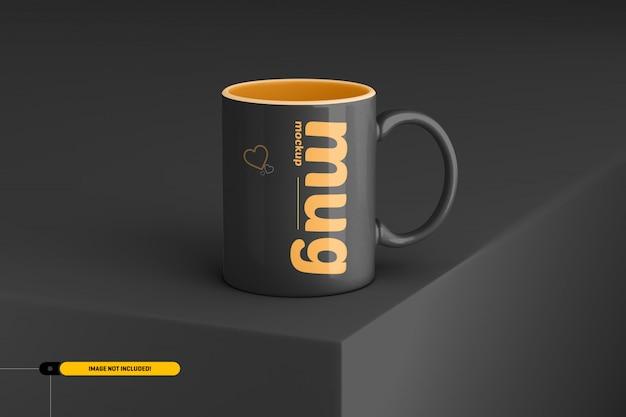 Filiżanka kawy. makieta kubka