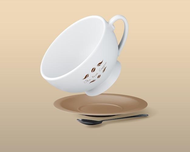 Filiżanka kawy makieta