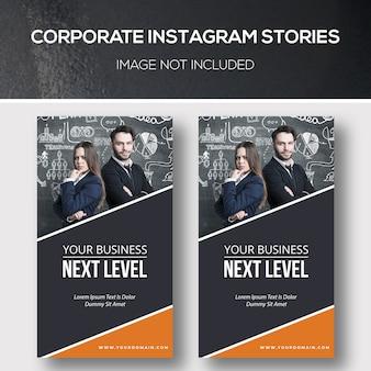 Firmowe historie na instagramie
