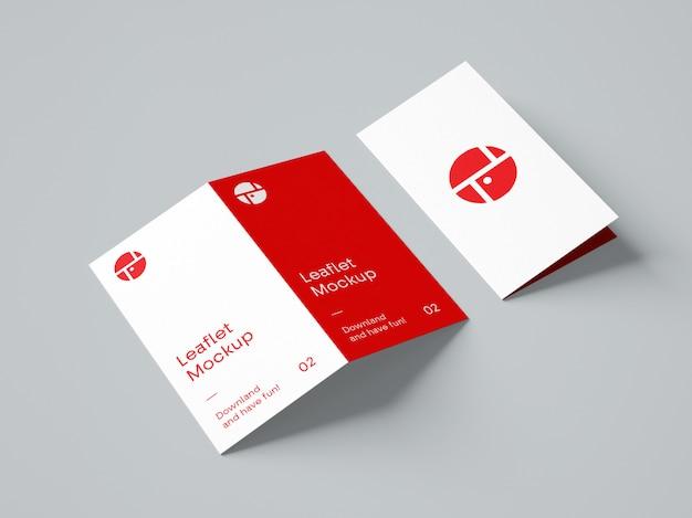 Fold broszura makieta