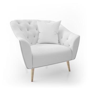Fotel i poduszka