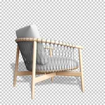 Fotel makieta renderowania 3d