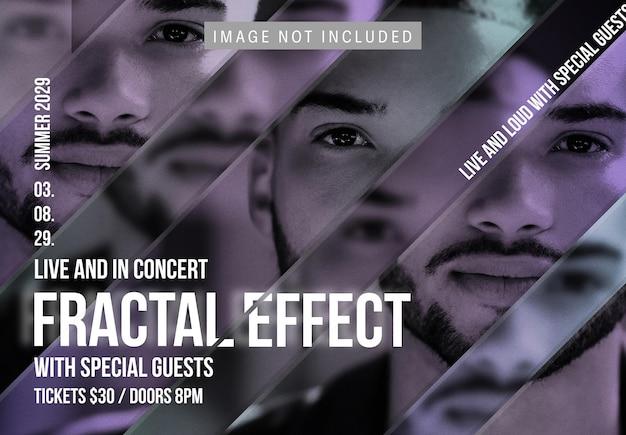 Fraktalny efekt obrazu