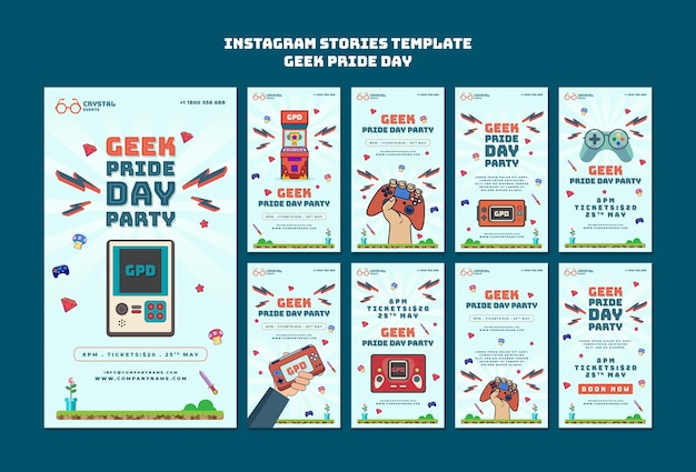 Geek pride day historie w mediach społecznościowych