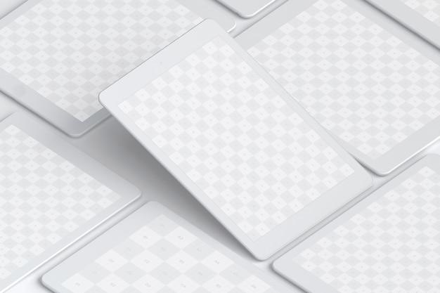 Gliniany tablet 9.7 makieta