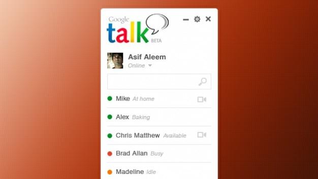 Google talk koncepcja
