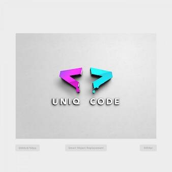Gradient logo tempate