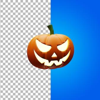Halloween jack o latern renderowanie 3d