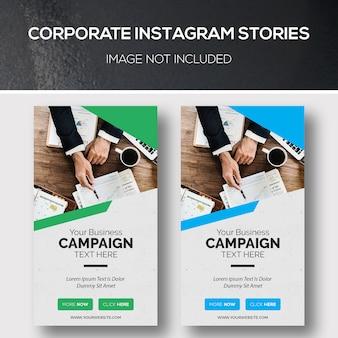 Historie korporacyjne na instagramie