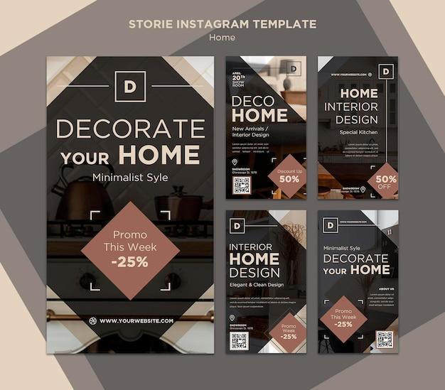 Historie w mediach społecznościowych dotyczące sprzedaży w stylu domowym