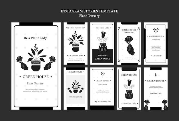 Historie z mediów społecznościowych dotyczące szkółek roślin