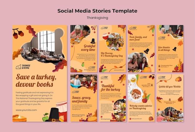 Historie z okazji święta dziękczynienia z jesiennymi detalami