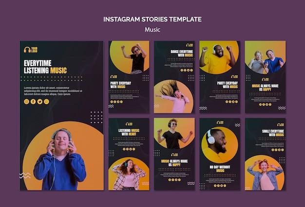Historie z wydarzenia na instagramie