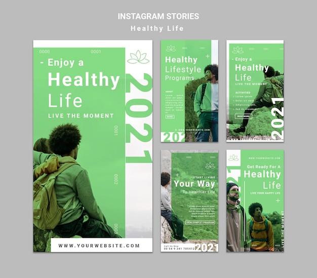 Historie zdrowego stylu życia w mediach społecznościowych