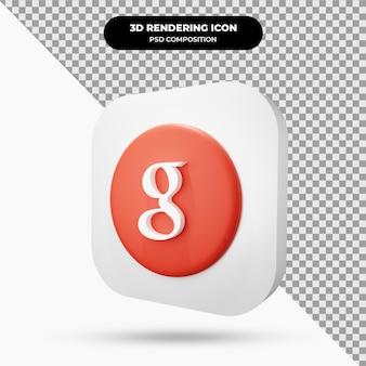 Ikona 3d obiektu google