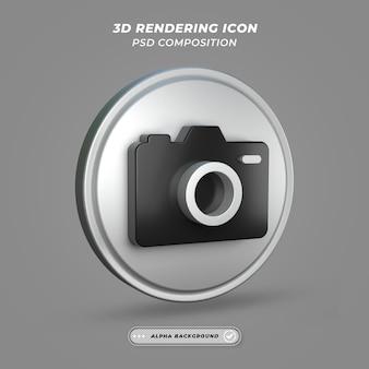 Ikona aparatu w renderingu 3d